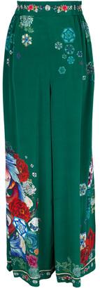 Camilla Empire Orbit Gathered Pocket Wide Leg Pant