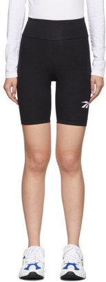 Reebok Classics Black Vector Logo Bike Shorts