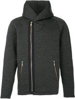 Kolor asymmetric padded jacket