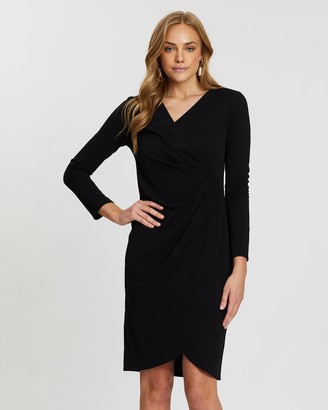 Dorothy Perkins Manipulated Wrap Bodycon Dress