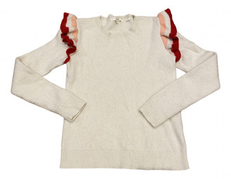 Chinti and Parker White Cashmere Knitwear