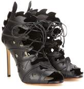 Francesco Russo Cut-out leather sandals