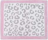 Sweet Jojo Designs Kenya 36-Inch x 30-Inch Accent Rug in White/Grey/Pink