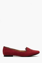Nasty Gal Wild Cat Loafer - Red