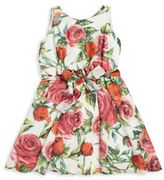 Helena and Harry Toddler's, Little Girl's & Girl's Rose Georgette Dress