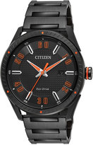 Citizen Men's Drive Black Ion-Plated Stainless Steel Bracelet Watch 42mm BM6995-51E