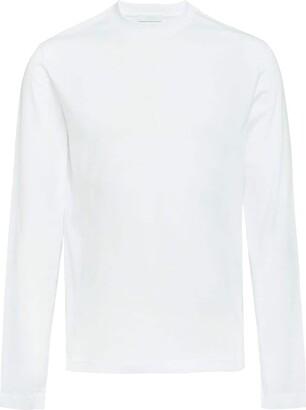 Prada long-sleeved jersey T-shirt