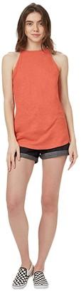 tentree Icefall Tank (Burnt Sienna Orange) Women's Clothing