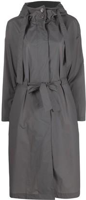 Herno Drawstring-Waist Long Raincoat