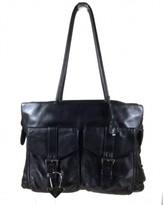 Prada excellent (EX Black Leather Shoulder Bag