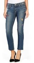 Paige Women's Legacy - Jacqueline Patch Raw Hem Ankle Skinny Jeans