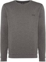 Hugo Boss Contempary Quilted Sweatshirt
