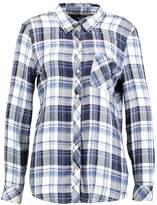Gap DRAPY PLAID Shirt blue