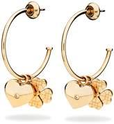 Folli Follie Heart4heart sweetheart earrings