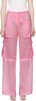 MISBHV Pink Cargo Pants
