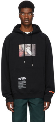 Heron Preston Black Photo Hoodie