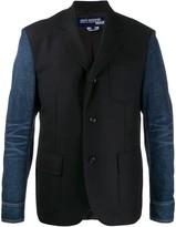 Junya Watanabe denim panelled blazer
