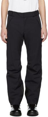 Moncler Navy Tech Sport RECCO® Ski Trousers
