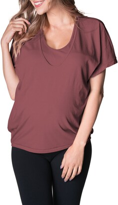 Bun Maternity Feelin' Free Maternity/Nursing Circle T-Shirt