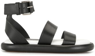 Proenza Schouler leather Pipe sandals