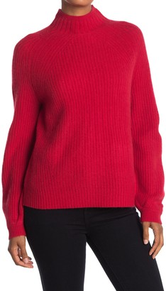 360 Cashmere Sophia Mock Neck Cashmere Sweater