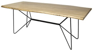 Mercana Home Furniture & Decor Papillion Ii Live Edge Dining Table