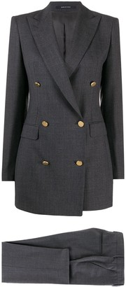 Tagliatore Double-Breasted Two Piece Suit