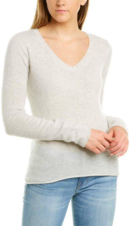 ATM Anthony Thomas Melillo V-Neck Cashmere Sweater