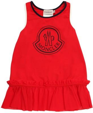 Moncler Lycra Printed Cover Up Dress