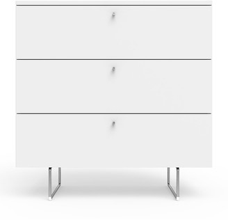 "Spot On Square 34"" Alto Dresser, White"