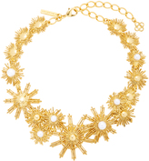 Oscar de la Renta Gold-Tone and Faux Pearl Necklace