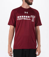 Under Armour Men's Temple Owls College Onfield Football T-Shirt