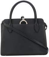 Bulgari disk detail tote - women - Calf Leather/Metal (Other) - One Size
