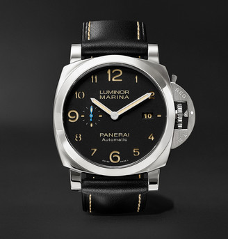 Panerai Luminor Marina 1950 3 Days Acciaio 44mm Stainless Steel And Leather Watch, Ref. No. Pam01359