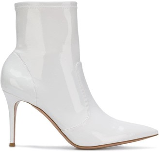 Gianvito Rossi Pointed Ankle Boots