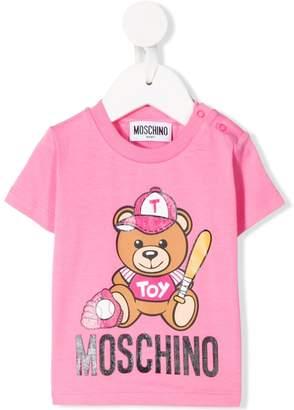 MOSCHINO BAMBINO Teddy Bear print T-shirt