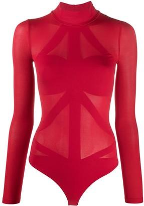 Wolford Maia string seamless bodysuit