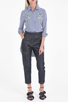 ADAM by Adam Lippes Cropped Denim Trousers