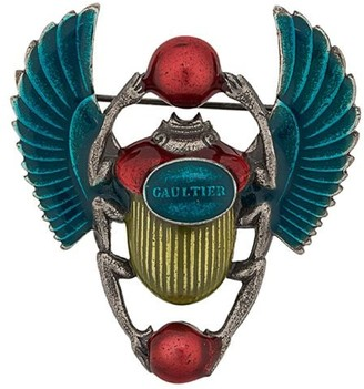 Jean Paul Gaultier Pre-Owned scarab brooch