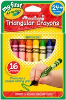 Crayola My First 16ct Washable Triangular Crayons
