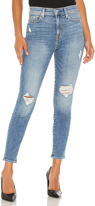 7 For All Mankind High Waist Ankle Skinny. - size 24 (also