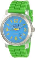 TKO ORLOGI Women's TK558-NGR Milano Junior Acrylic Case Dial Watch