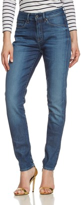 G Star Women's 3301 Ultra High Super Skinny Jean in Dark Aged