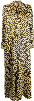 F.R.S For Restless Sleepers Geometric Print Jumpsuit