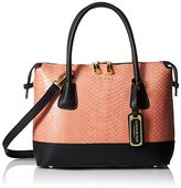 London Fog Heather Satchel Bag