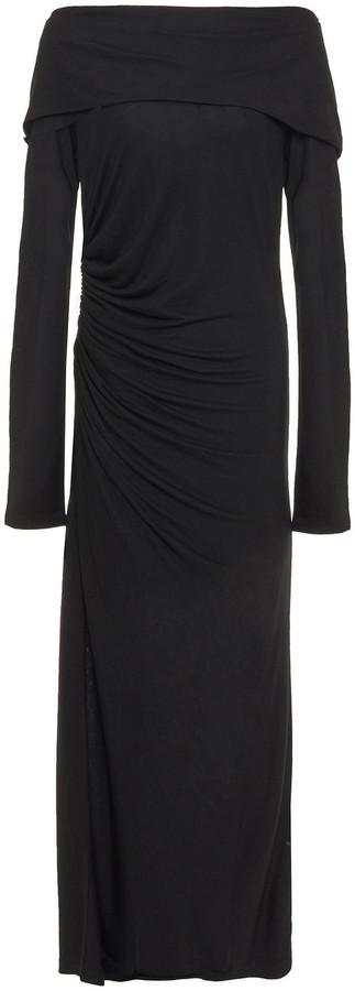 Ninety Percent Ruched Tencel-jersey Maxi Dress
