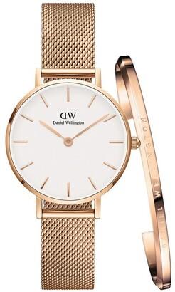 Daniel Wellington DW00500020 Women's Gift Pack Rose 28mm Watch