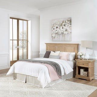 Home Styles Manor House Queen Headboard & Night Stand