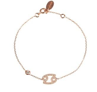 Rosegold Zodiac Bracelet Cancer