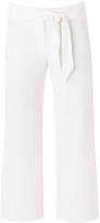 Veronica Beard Imperial Cropped Tie Waist Pant